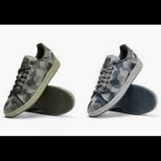 アディダス(adidas)のアディダス スニーカー 迷彩 スタンスミス カモフラ オリジナル 靴 グレー (スニーカー)