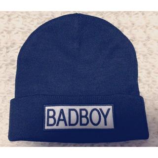 ブラックニット帽