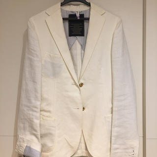 アパルトモンドゥーズィエムクラス(L'Appartement DEUXIEME CLASSE)のホワイトジャケット(テーラードジャケット)