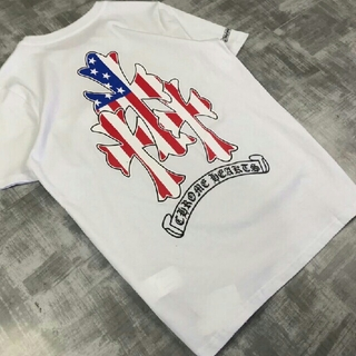 クロムハーツ(Chrome Hearts)のChrome Hearts ホワイト 新品 カッコいい メンズ Tシャツ(Tシャツ/カットソー(半袖/袖なし))