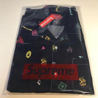 シュプリーム(Supreme)のXL 黒 Supreme Deep Space Rayon S/S shirt(シャツ)