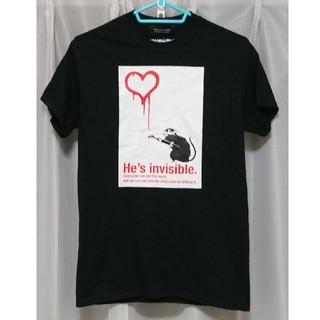 ナノユニバース(nano・universe)のバンクシー Love Rat Tシャツ(Tシャツ/カットソー(半袖/袖なし))