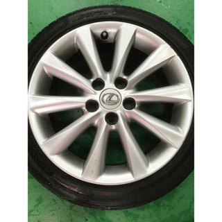 トヨタ(トヨタ)のLEXUS IS 17インチ 純正ホイール 4本 タイヤ付(タイヤ・ホイールセット)