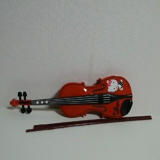ハローキティ(ハローキティ)のハローキティのバイオリン(楽器のおもちゃ)