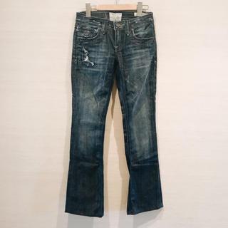 タヴァニティソージーンズ(TAVERNITI SO JEANS)のTavernity so jeans ストーン 付き デニム 新品未使用(デニム/ジーンズ)