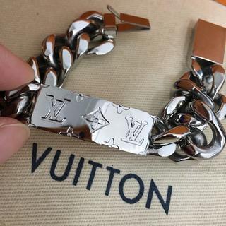 ルイヴィトン(LOUIS VUITTON)のルイヴィトンの18SS物ののチェーンブレスレット(ネックレス)