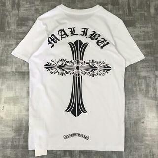 クロムハーツ(Chrome Hearts)のChrome Hearts ホワイト カッコいい Tシャツ(Tシャツ/カットソー(半袖/袖なし))