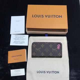 LOUIS VUITTON - LOUIS VUITTON  スマホケースiPhone7/8対応 イニシャル有