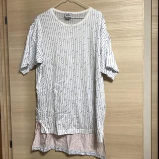 ヴィヴィアンウエストウッド(Vivienne Westwood)のヴィヴィアンウエストウッドマン オーバーサイズTシャツ 矢絣模様 インポート(Tシャツ/カットソー(半袖/袖なし))