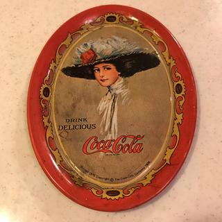コカコーラ(コカ・コーラ)のコカコーラミニトレイ(ノベルティグッズ)