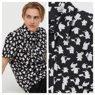 エイチアンドエム(H&M)の【H&M】新作&新品 ピカチュウ シャツ(シャツ)