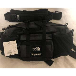 Supreme - supreme THE NORTH FACE Leather Waist Bag