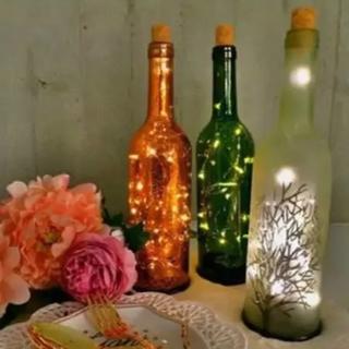 フランフラン(Francfranc)の新品☆Francfranc フランフラン ボトルライト 照明 電気 インテリア(その他)