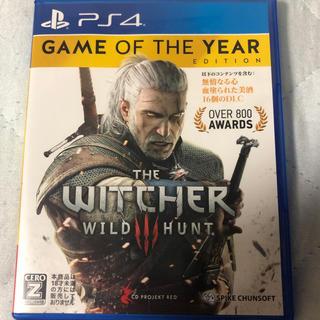 プレイステーション4(PlayStation4)のウィッチャー3 game of the year(家庭用ゲームソフト)