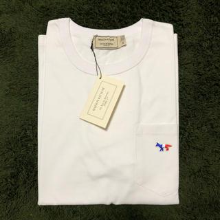メゾンキツネ(MAISON KITSUNE')のメゾンキツネ Tシャツ ホワイト(Tシャツ/カットソー(半袖/袖なし))