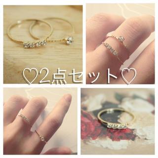 ★ni---na様専用★(リング(指輪))