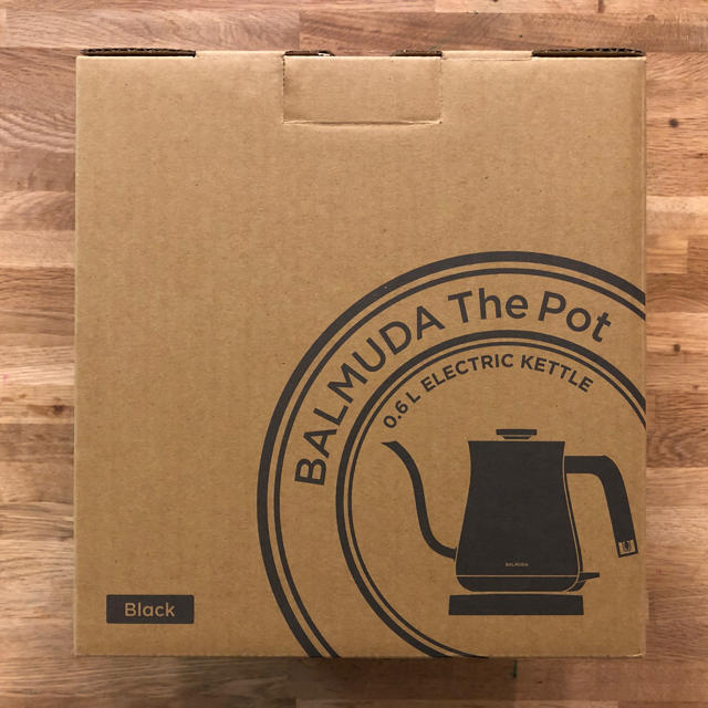 BALMUDA(バルミューダ)のなつき様専用 バルミューダ The Pot ケトル ポット BALMUDA 黒 スマホ/家電/カメラの生活家電(電気ケトル)の商品写真