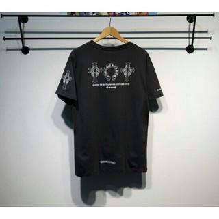 クロムハーツ(Chrome Hearts)のChrome Hearts 半袖 男女兼用Tシャツ 夏服 カジュアル(Tシャツ/カットソー(半袖/袖なし))