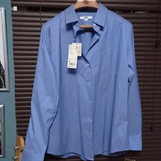 ユニクロ(UNIQLO)のユニクロ レディースシャツ(シャツ/ブラウス(長袖/七分))