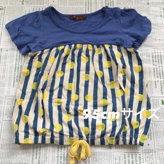 ベルメゾン(ベルメゾン)のベルメゾン 水玉チュニック 95cmサイズ(Tシャツ/カットソー)