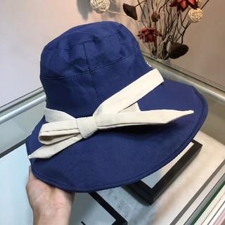 グッチ(Gucci)のグッチ   帽子  ハット  春夏物   カワイイ(ハット)