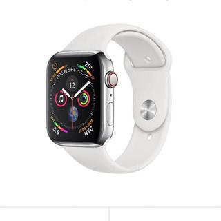 アップル(Apple)のapple watch series4 セルラー ステンレス(腕時計(デジタル))