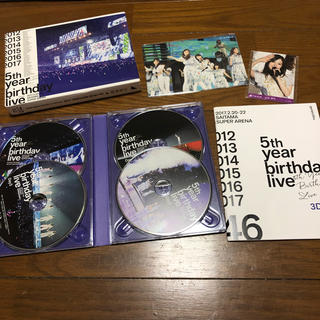 ︎ 乃木坂46 5th YEAR BIRTHDAY LIVE Blu-ray