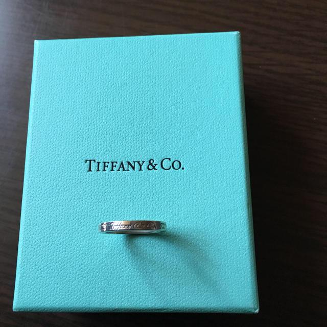 Tiffany & Co.(ティファニー)のティファニー指輪最終値下げします レディースのアクセサリー(リング(指輪))の商品写真