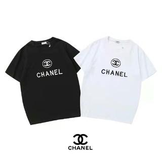 シャネル(CHANEL)の[2枚5000円送料込み] Tシャツ 半袖 男女兼用(Tシャツ/カットソー(半袖/袖なし))