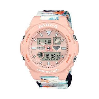 ロキシー(Roxy)のBaby-G ROXYコラボ BAX-100RX-4AJR(腕時計)