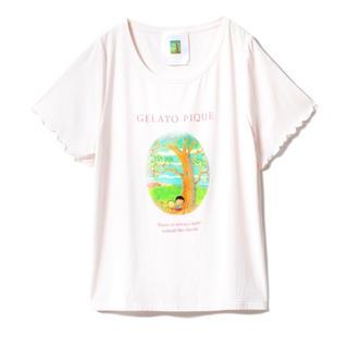 ジェラートピケ(gelato pique)のさくらももこ Tシャツ(Tシャツ(半袖/袖なし))