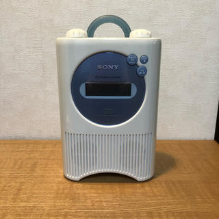 SONY  ポータブル  CD&RADIO  プレーヤー  防水タイプ