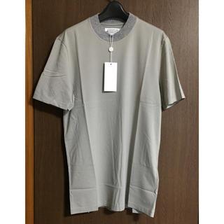 マルタンマルジェラ(Maison Martin Margiela)の52新品64%off マルジェラ 切り替え ニット Tシャツ 17AW (Tシャツ/カットソー(半袖/袖なし))