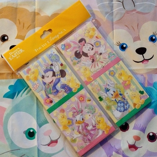 Disney - 新品未使用 ディズニー イースター メモ4個セット