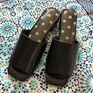 新品☆RCWB ロデオクラウンズワイドボウル サンダル ミュール 靴