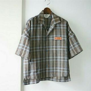 SUNSEA - サンシー sunsea 19ss チェック リネンシャツ 半袖 新品