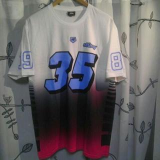 ステューシー(STUSSY)のSTUSSY ステューシー 35周年 スカル Tシャツ 未使用 L (Tシャツ/カットソー(半袖/袖なし))