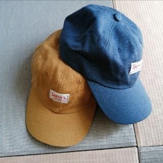 コーエン(coen)のコーエン SMITH別注 美品 キャップ 帽子 セット売り(キャップ)
