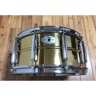 【ケース付き】pearl sensi tone brass 14×6.5