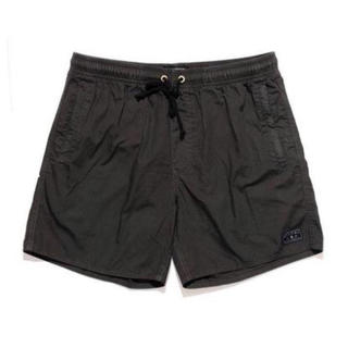 Afends baywatch black elastic boardshort
