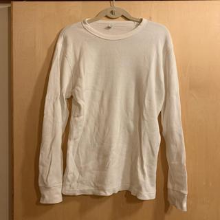 ユニクロ(UNIQLO)のユニクロ ワッフルt S(Tシャツ/カットソー(七分/長袖))