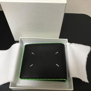 マルタンマルジェラ(Maison Martin Margiela)の最安値【新品】メゾンマルジェラ  二つ折り財布 Maison Margiela(折り財布)