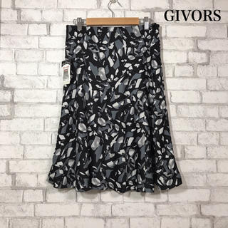 ベルメゾン(ベルメゾン)のGIVORS 新品タグ付き ストレッチ スカート(ひざ丈スカート)