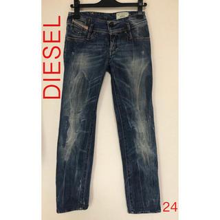 ディーゼル(DIESEL)のDIESELディーゼル ストレートジーンズ 24インチ(デニム/ジーンズ)