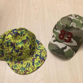 ジーユー(GU)の美品☆キッズ帽子 56-58   (帽子)