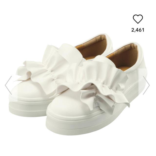 GU(ジーユー)のジーユー プラットフォームスリッポン M レディースの靴/シューズ(スリッポン/モカシン)の商品写真