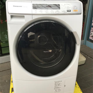 パナソニック(Panasonic)の【2012年製】ドラム式電気洗濯乾燥機6kg/3kg NA-VD110L(洗濯機)