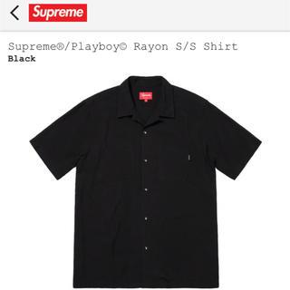 シュプリーム(Supreme)のsupreme×playboy rayon s/s shirts(シャツ)