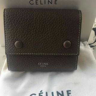 セリーヌ(celine)のCELINE セリーヌ 三つ折り ミニ財布(折り財布)