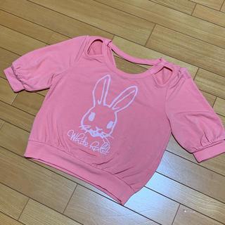 リズリサ(LIZ LISA)のLIZ LISA うさぎトップス(Tシャツ(半袖/袖なし))